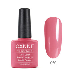 50 - CANNI UV Nail Gel Varnish Colour Saturated Pink