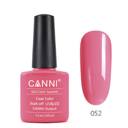 52 - CANNI UV Nail Gel Varnish Colour Peach Pink