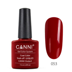 53 - CANNI UV Nail Gel Varnish Colour Capsicum Red