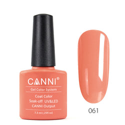 61 - CANNI UV Nail Gel Varnish Colour Coral