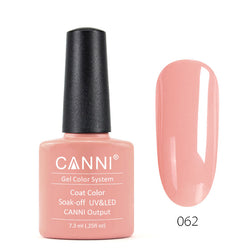 62 - CANNI UV Nail Gel Varnish Colour Natural Colour
