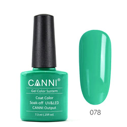 78 - CANNI UV Nail Gel Varnish Colour Spring-Green