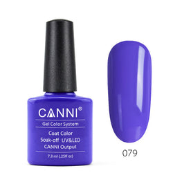 79 - CANNI UV Nail Gel Varnish Colour Royal-Blue