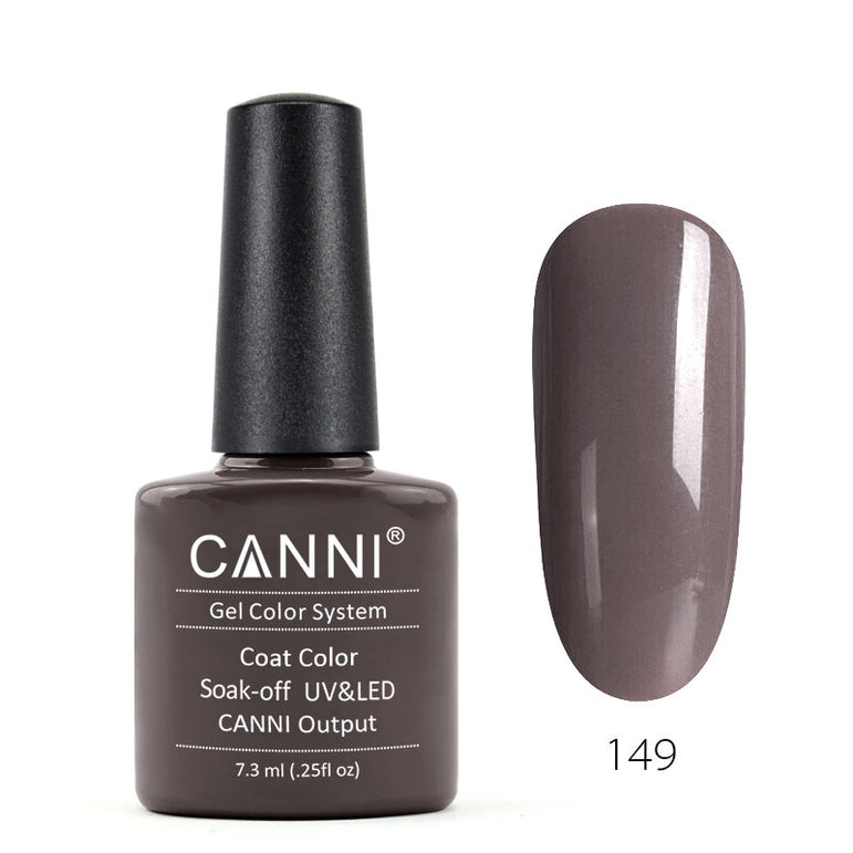 149 - CANNI UV Nail Gel Varnish Colour Pink Grey
