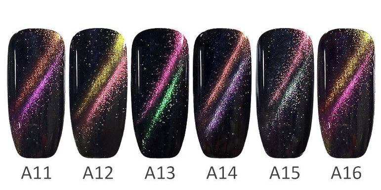 Magnetic Starry CANNI 3D Cat Eye Fashion UV & LED Soak off Nail Gel Polish