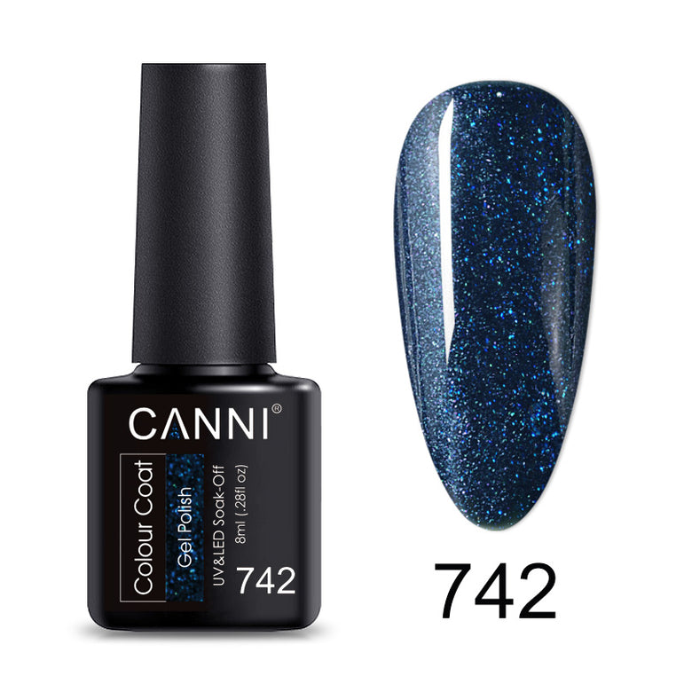 CANNI Lite Soak Off UV / LED Nail Gel Polish - 8ml
