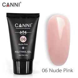 CANNI 45g Poly Gel II Quick Building Natural Nail Extension Gel Camouflage UV/LED
