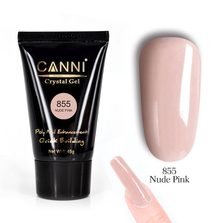 CANNI 45g Poly Gel Quick Building Natural Nail Extension Gel Camouflage UV/LED