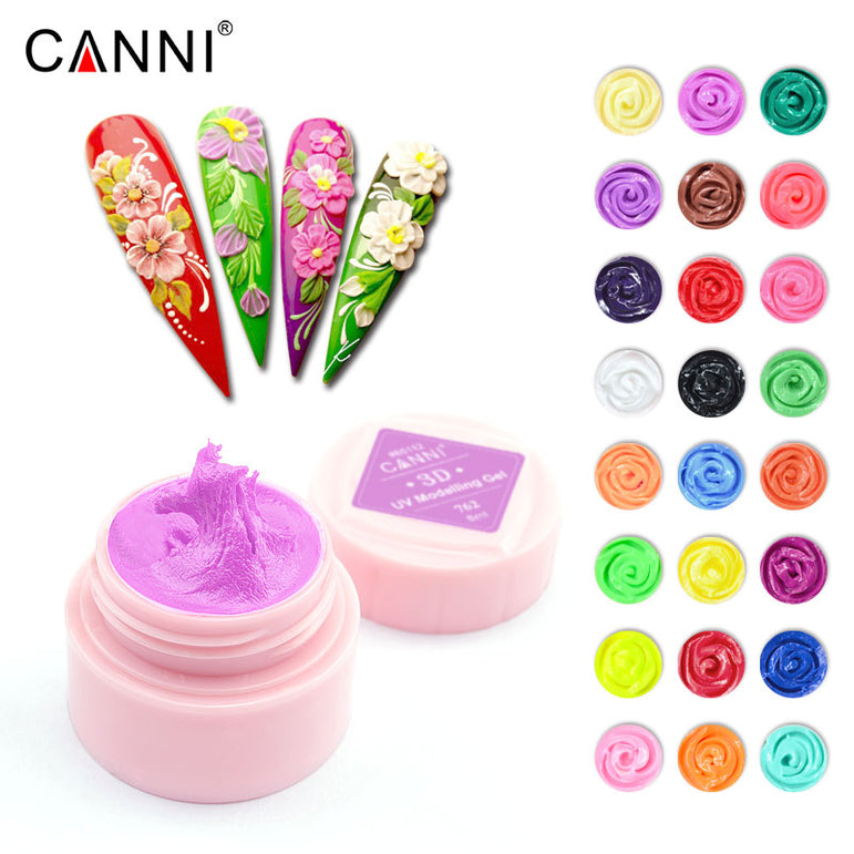 CANNI 3D Modelling Sculpture Gel UV/LED Soak Off Nail Art