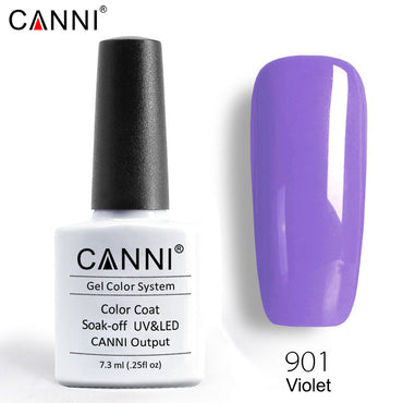 CANNI Premium Soak Off UV / LED Nail Gel Polish Shade 901 - 960