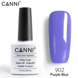 902 - CANNI Premium Nail Gel Polish Colour Purple Blue
