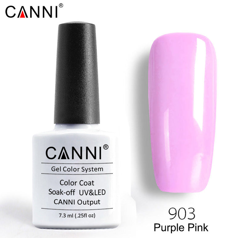 903 - CANNI Premium Nail Gel Polish Colour Purple Pink