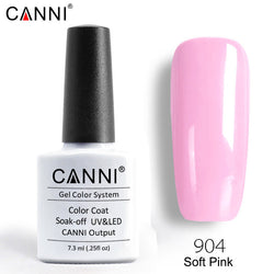 904 - CANNI Premium Nail Gel Polish Colour Soft Pink