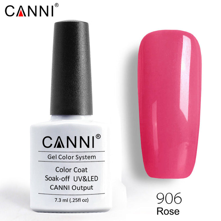906 - CANNI Premium Nail Gel Polish Colour Rose
