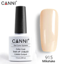 915 - CANNI Premium Nail Gel Polish Colour Milkshake