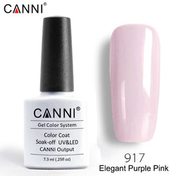 917 – CANNI Premium Nail Gel Polish Colour Elegant Pink Purple