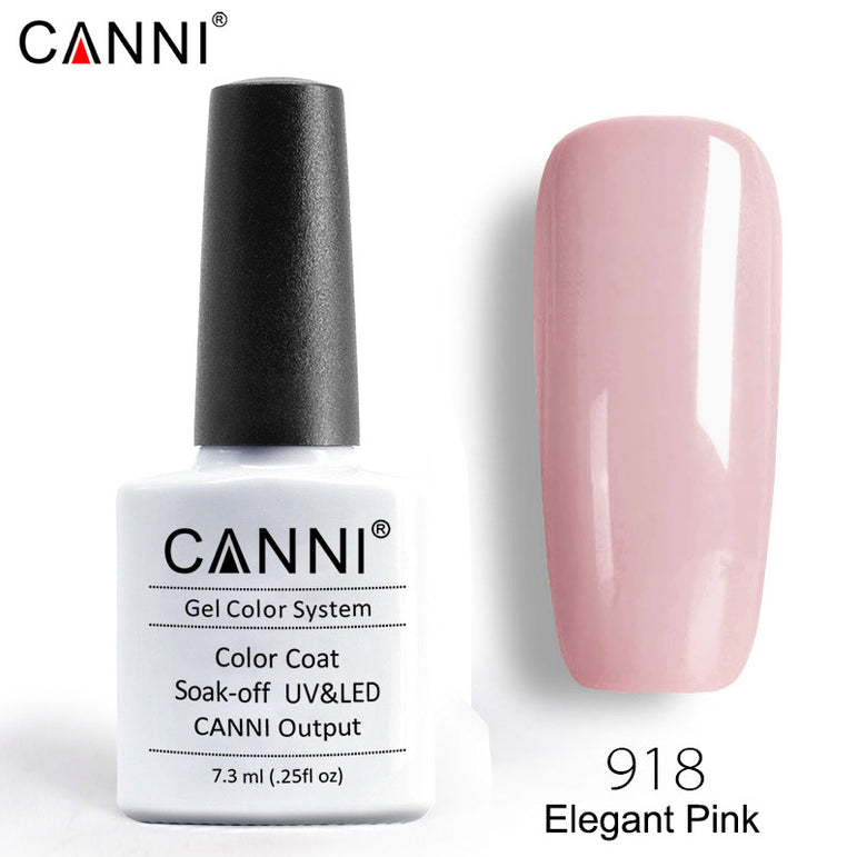 918 – CANNI Premium Nail Gel Polish Colour Elegant Pink