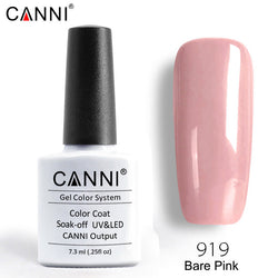 919 – CANNI Premium Nail Gel Polish Colour Bare Pink