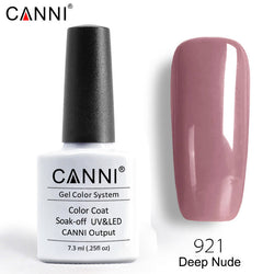 921 – CANNI Premium Nail Gel Polish Colour Deep Nude