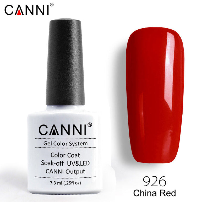 926 – CANNI Premium Nail Gel Polish Colour China Red