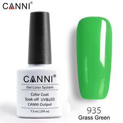 935 – CANNI Premium Nail Gel Polish Colour Grass Green