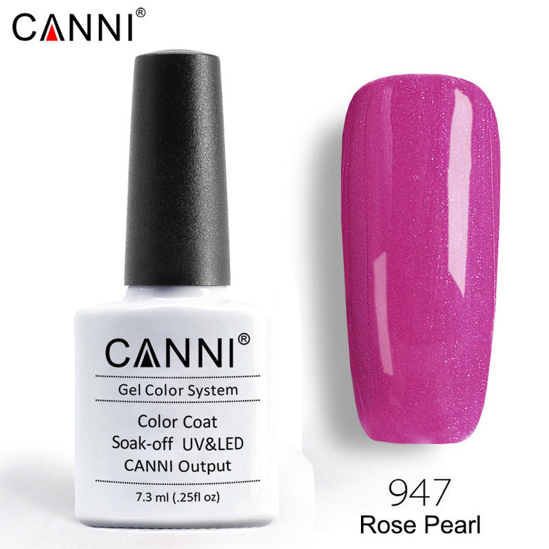 947 – CANNI Premium Nail Gel Polish Colour Pearl Rose