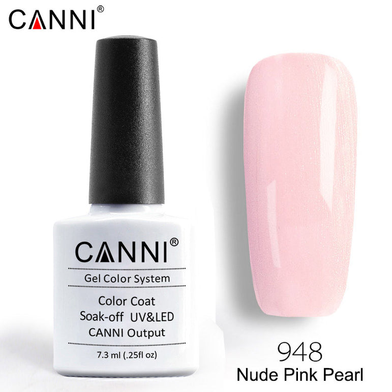 948 – CANNI Premium Nail Gel Polish Colour Pearl Nude Pink