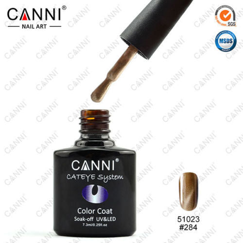 CANNI CAT EYE (Magnetic) Effect UV/LED Soak Off Gel Nail Polish