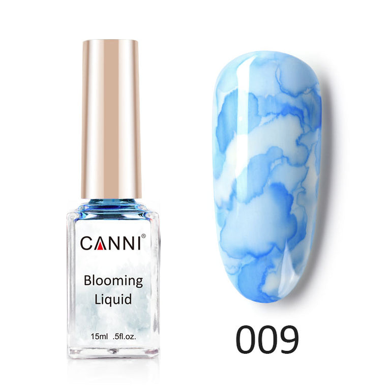 CANNI Water Colour Blooming Nail Polish Ink Liquid - 15ml