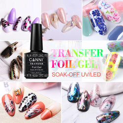 CANNI Transfer Foil Nail Adhesive Gel Glue UV / LED soak off Polish