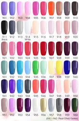 CANNI Premium UV Nail Gel Varnish shade card