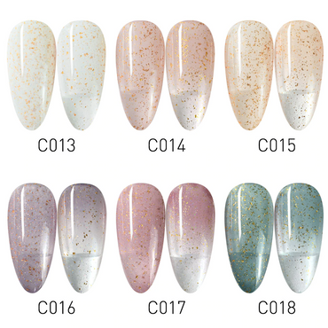 CANNI Broken Gold Series UV Nail Gel Varnish - 8ml