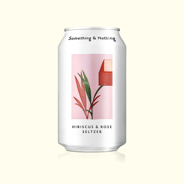 Something and Nothing Hibiscus Rose Seltzer