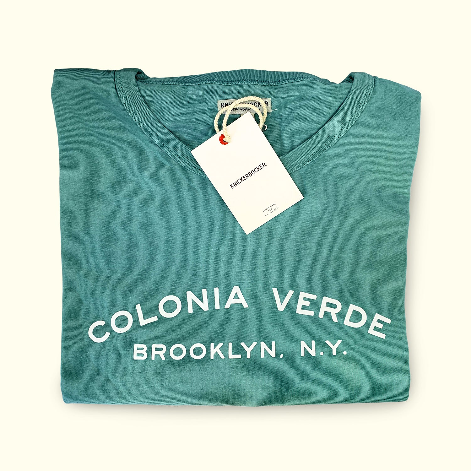 Colonia Verde T-Shirt by Knickerbocker
