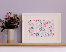 Load image into Gallery viewer, Floral Ladybird Giclée Art Print