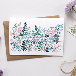 Bloom & Grow Illustrated Greetings Card