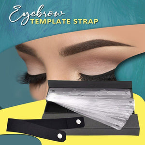 Eyebrow Template Straps (12 Templates/Set)