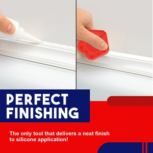 Pro Caulking Perfect Finishing Scraper(4pcs/set)