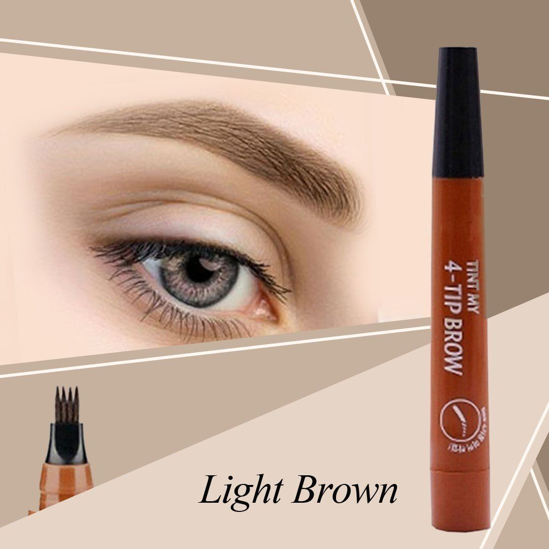 Natural 3-Tip Tattoo Eyebrow Pen - 💎 Limited Time 60% Discount 💎