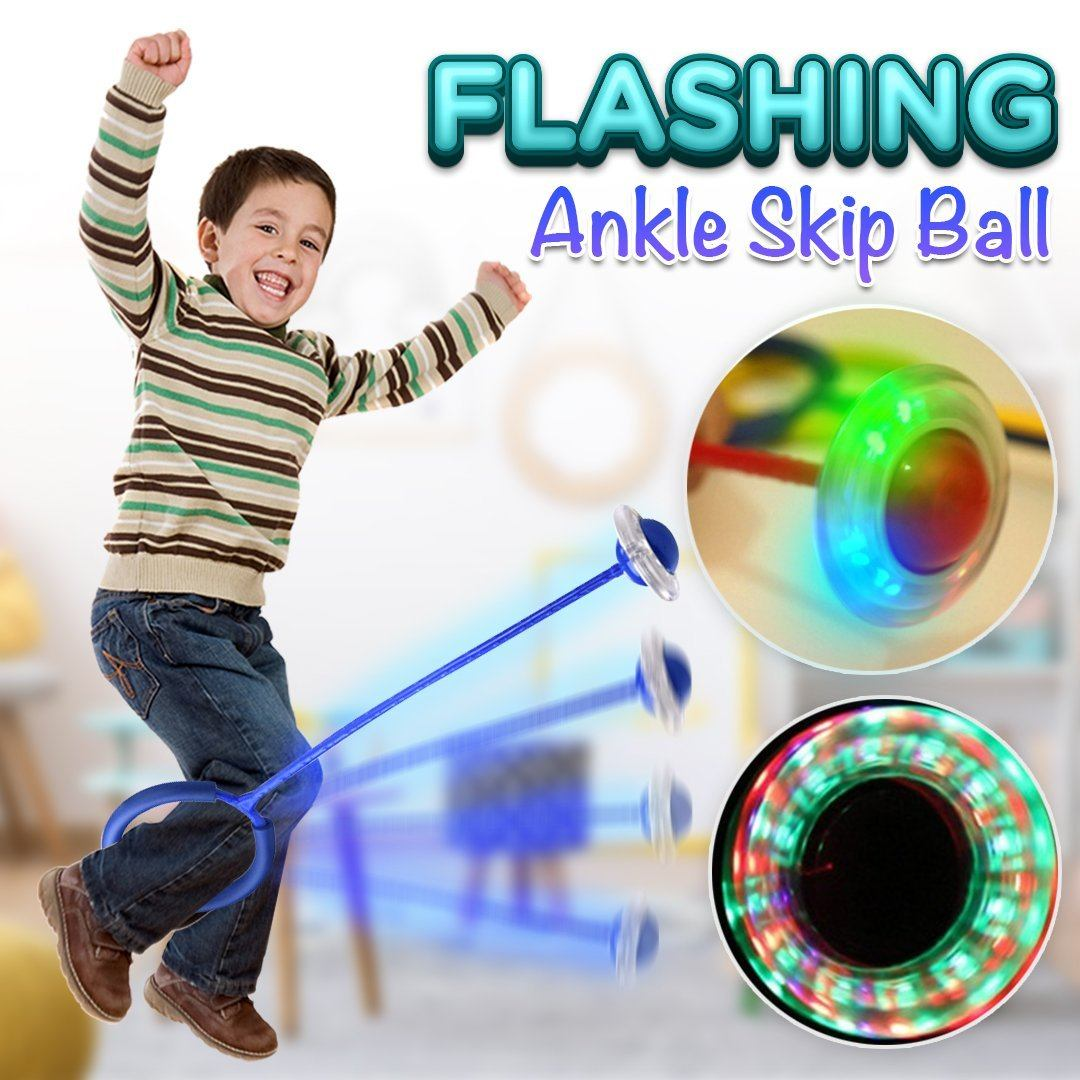 Flashing Ankle Skip Ball