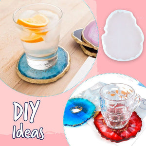 Crystal Cup Mat Silicon Mold