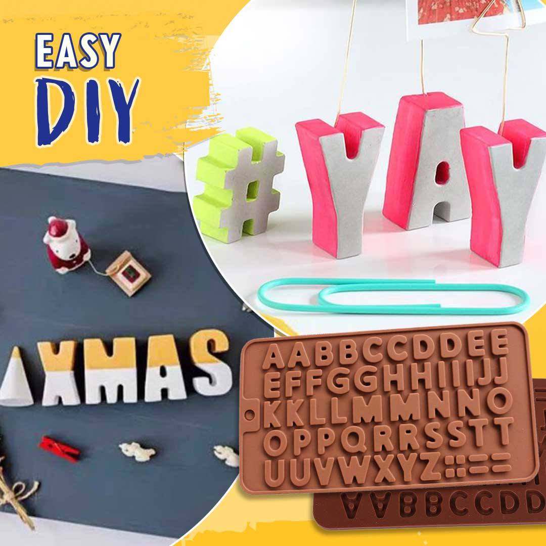 Concrete Alphabet Mold