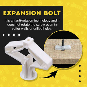 Drywall Mounting Expansion Bolt (10pcs)