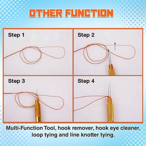 Fishing Line Hook Tier
