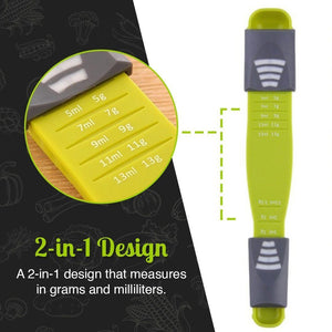 Double-End Adjustable Measuring Spoon