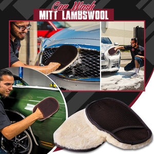 Car Wash Mitt Lambswool