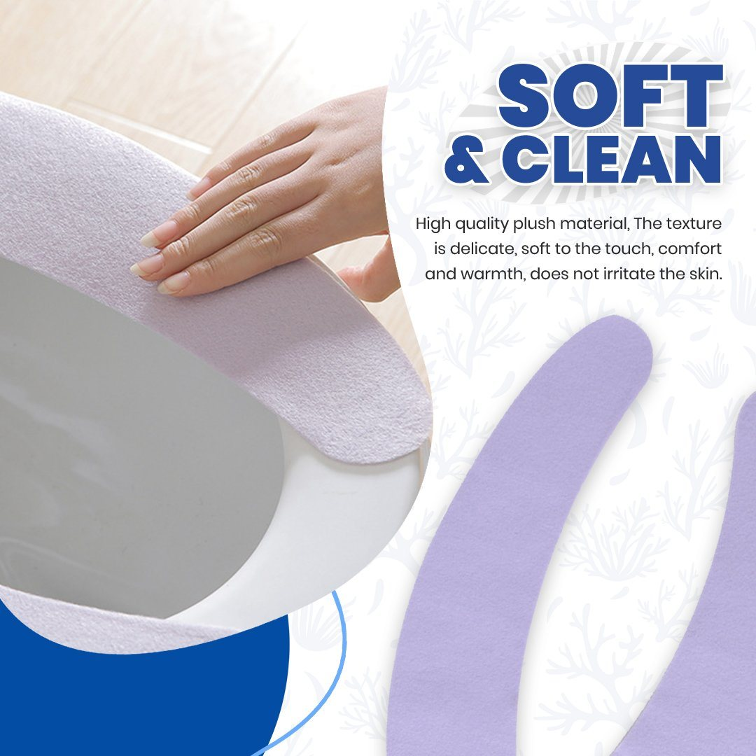 Toilet Seat Suede Mat