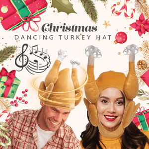 Christmas Dancing Turkey Hat