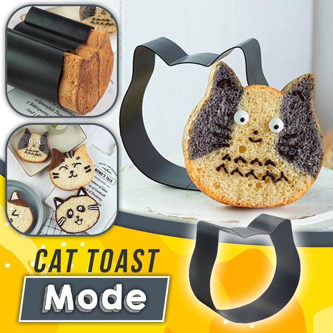 Cat Toast Mould