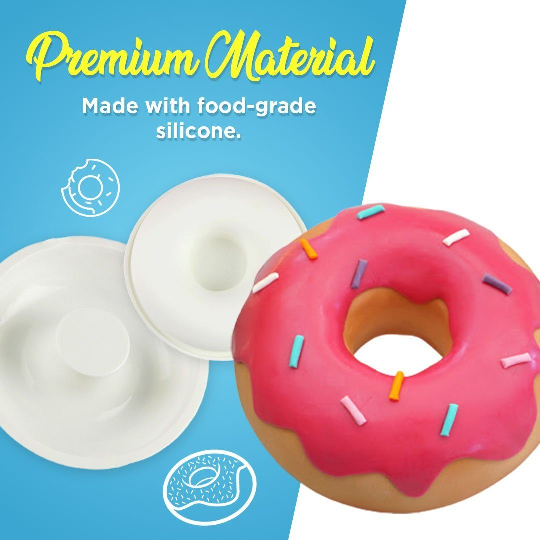Silicone Giant Donut Cake Mold